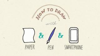 紙とペンとスマホがあれば大丈夫!手描きイラストを簡単にウェブで公開する方法