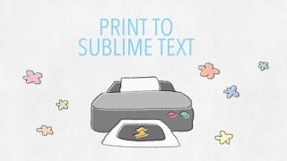 Sublime Text3で書いたコードをカラーで印刷する